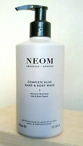 Neom Organics Complete Bliss Hand & Body Wash 300ml Brand New!