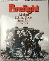 SPI 1976 Firefight Modern US and Soviet Small Unit Tactics Board Game Complete