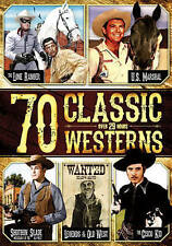 70 Classic Westerns (DVD, 2014, 4-Disc Set)
