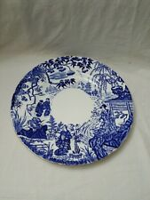 Royal Crown Derby Blue Mikado Dinner Plate 10 3/8""