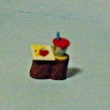"1992 Hallmark Keepsake Valentine Merry Miniatures ""Paint Can On Tree Stump"""