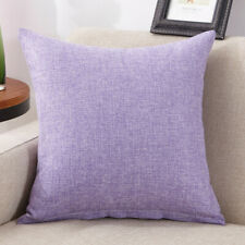 Multicolor Pillow Case Linen cotton Cushion Cover Decorative Home Sofa Throw