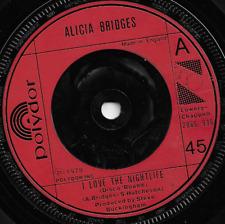 ALICIA BRIDGES - I LOVE THE NIGHTLIFE / SELF APPLAUSE - 70s FUNK SOUL DISCO