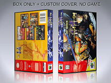 KILLER INSTINCT GOLD. NTSC. Box/Case. Nintendo 64. BOX + COVER. (NO GAME)