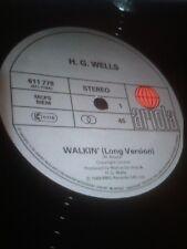 """H.G. WELLS [Nick Nicely] RARE """"Walkin'""""[long version] c/w """"Walkin"""" & """"Walkin'[m"""