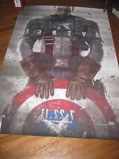 "CAPTAIN AMERICA: First Avenger,Teaser 2 Sided 48""x70"" Movie Poster 2011] Rare NM"