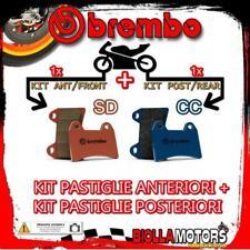 BRPADS-38096 KIT PASTIGLIE FRENO BREMBO FANTIC MOTOR TRIAL 1991- 250CC [SD+CC] A