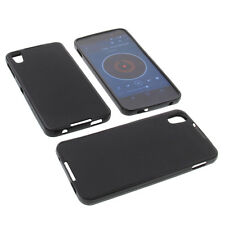 Custodia per Alcatel One Touch Idol 4 Custodia Cellulare TPU GOMMA Nero
