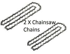 "2 x Chainsaw Chain for ECHO CS5501 CS6700 CS6701 6702 6800 CS8000 15""/37cm"