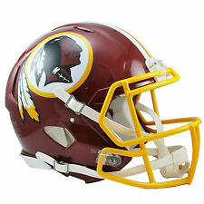 WASHINGTON REDSKINS RIDDELL AUTHENTIC SPEED FOOTBALL HELMET