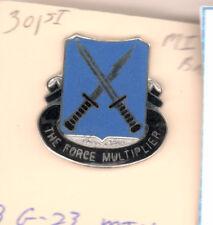 301st MI Bn Military Intelligance Army DI DUI CB CB G23 MIU
