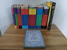 Harry Potter Complete Hardback Book Set Years 1-7 - First Editions & Extras