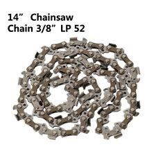 """14"""" Chainsaw Saw Chain Blade 3/8"""" LP .050 Gauge 52DL"""