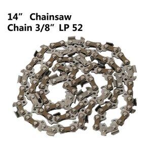 "14""  Chainsaw Saw Chain Blade 3/8"" LP .050 Gauge 52DL fit Stihl Gas Chainsaw"