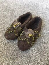 100% Wool Felt Home Boots & Slippers/Size 40-41