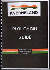 Kverneland reversibili e convenzionali Trattore ARATURA Libro di istruzioni guida