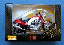 MOTO GUZZI V10 CENTAURO MOTORCYCLE 1:18 DIE CAST SPECIAL EDITION MAISTO