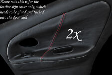 Red Stitch Fits Mitsubishi Lancer EVO 4 5 6 IV V VI 2x Rear Door Card Covers