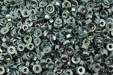 (1000) Serrated Flange #10 Hex Machine Screw Lock Nuts 10-24