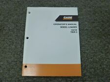 Case 1221E Tier 3 Articulated Wheel Loader Owner Operator Maintenance Manual