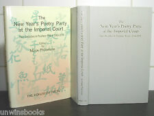 JAPAN Japanese POEMS New Year's Poetry Party IMPERIAL COURT Marie Philomene WAKA