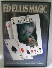 Ellis Aces Volume IV, Ed Ellis Magic, englischsprachige DVD, guter Zustand