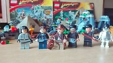 Lego indiana jones and the kingdom of the cristal skull 7196 and 7624