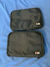 BUBM Electronic Accessories Organizer Travel Gadget Carry Bag 2 pack