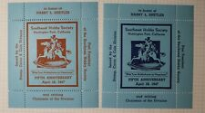 Southeast Hobby Society Hobbyhorse to Happiness 1947 Philatelic Souvenir Label