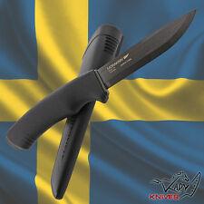 MORAKNIV BUSHCRAFT BLACK CARBON - MORA of Sweden Survival Hunting Tactical Knife