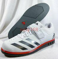 New Adidas Powerlift 3.1 Weightlifting Shoes Sz 11 BA8018 Men's Training White