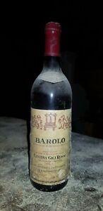 Barolo 1979 Cantina Gigi Rosso