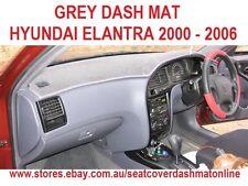 DASH MAT, DASHMAT,DASHBOARD COVER FIT  HYUNDAI ELANTRA 2000-2006,  GREY