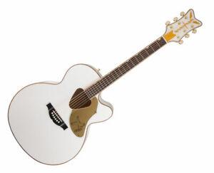 Gretsch G5022CWFE Rancher Falcon Acoustic Guitar - White --