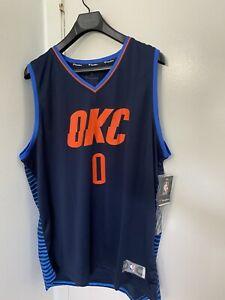 Oklahoma City Thunder Russell Westbrook Fanatics  Jersey mens Size 2XL Authe