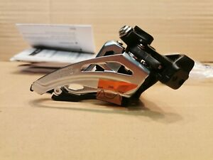 Shimano Deore FD-M617-L 34.9mm Low Clamp-On Front Pull Side/S 10-Speed Double