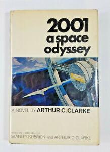 2001 A Space Odyssey by Arthur Clarke 1968 NAL 1st Edition 1st Printing Kubrick