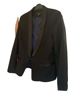 Tuxedo  jacket Ladies Size 14.
