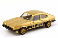 1:87 FORD CAPRI MK III 3.0 S Golden Metallic - Rims Golden - Herpa 166096/82