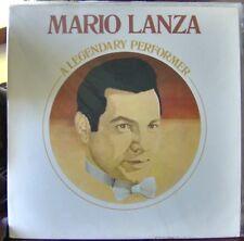Mario Lanza; Legendary Performer     RCA Red Seal