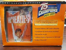 Wheaties Mary Lou Retton 1999 75 years Gold Signature Commemorative Edition