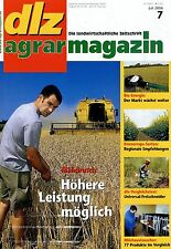 dlz 7 06 2006 Pöttinger Terrasem 3000 T Ethanol Getreide Biogas Mähdrusch Raps