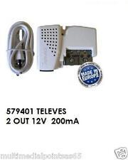 ALIMENTATORE PER ANTENNA 12 V 200MA TELEVES 579401 LTE
