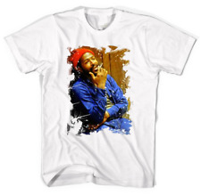 Marvin Gaye T shirt White Men And Women Gift For Fans All Size NL054