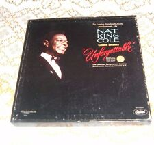 Nat King Cole Golden Treasury Unforgettable Longine Symphony LS117A 6 Records 19