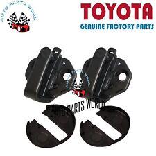 GENUINE TOYOTA SUPRA LEXUS GS300 LH & RH FRONT DOOR LOCK STRIKER PLATE W/COVER