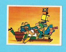 Pirates on Wheels Vintage 1981 Hanna Barbera Cartoon Card from Spain