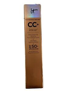 IT Cosmetics CC +  Bronzer Full Coverage Cream 1.08 oz BRAND NEW IN BOX