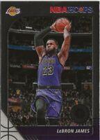 Z4) 2019-20 Panini Hoops Premium Stock LeBron James Los Angeles Lakers