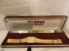 Helbros Ladies Quartz Watch AS IS Gold Tone Analogue 12 HR Dial